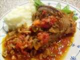 Rezept Lammstelzen - spiced slow-cooked lamb shanks nach jamie oliver