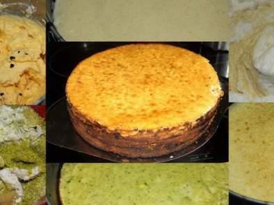 Festtagstorte Pistazienmarzipan-Baumkuchen