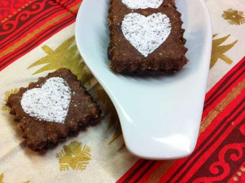 Weihnachtsplätzchen Mit Schokolade.Weihnachtsplätzchen 5 Und Letzte Endlich Schokolade Satt