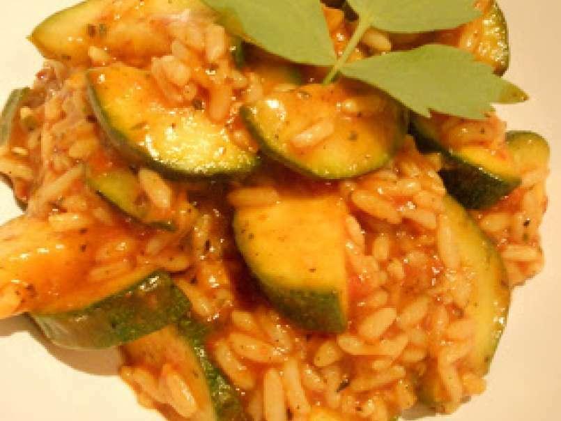Rezept zucchini reis